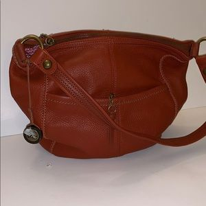 The Sak Rustic/Burnt Orange Color Hobo Bag